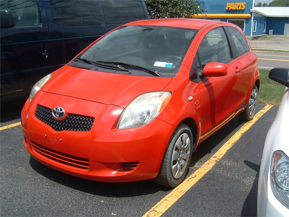 southern chautauqua fcu auctions 2007 toyota yaris. Black Bedroom Furniture Sets. Home Design Ideas
